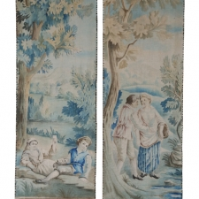 19th c. Tapestry Panels