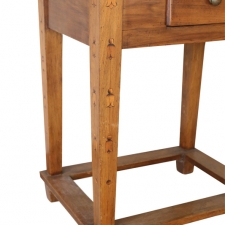 LGW march 2018 inlaid one drawer side table7a