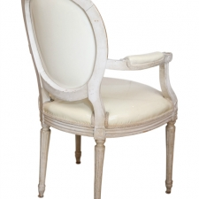 French Louis XVI-Style Chairs