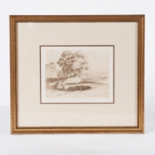 French sepia print, 1840