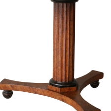 LGW march 2018 wood one drawer pedestal table3a