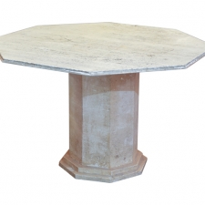 Italian Travertine Table