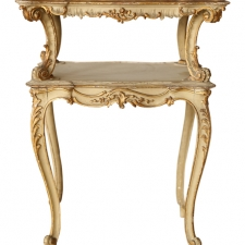 Italian Two Tiered Tea Table